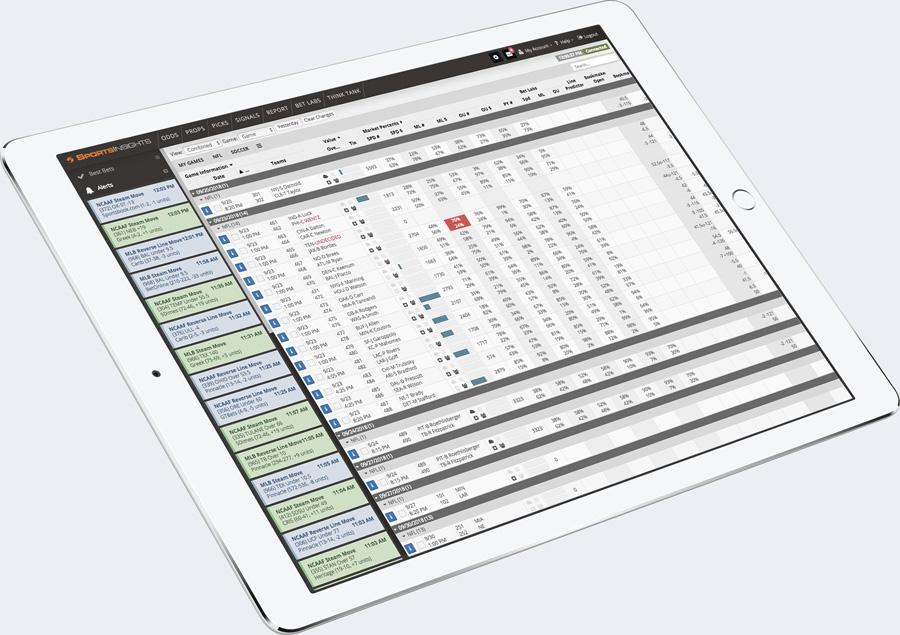 sports betting analytics